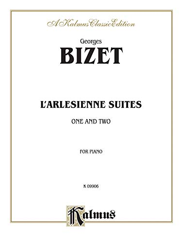 9780769254333: L'Arlesienne Suites: One and Two, Classic Edition (Kalmus Classic Editions)
