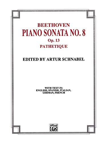 9780769254463: Sonata No. 8 in C Minor, Op. 13 (