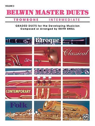 9780769254883: Belwin Master Duets Trombone Intermediate, Vol. 2