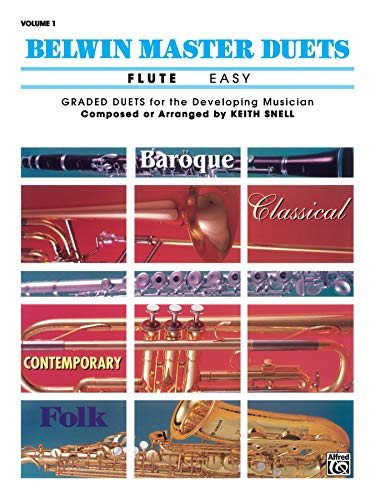 9780769254920: Belwin Master Duets (Flute), Vol 1: Easy