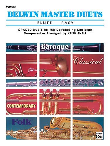 9780769254920: Belwin Master Duets (Flute), Vol 1: Easy