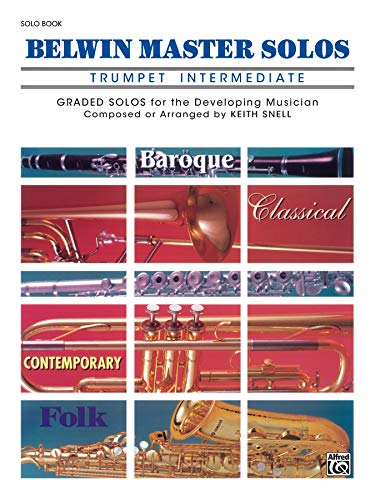 9780769255712: Belwin Master Solos (Trumpet), Vol 1: Intermediate