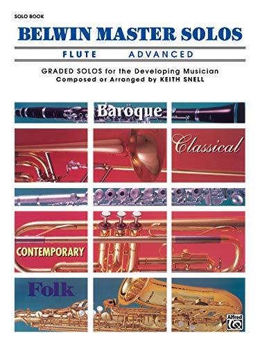 9780769255842: Belwin Master Solos (Flute), Vol 1: Advanced