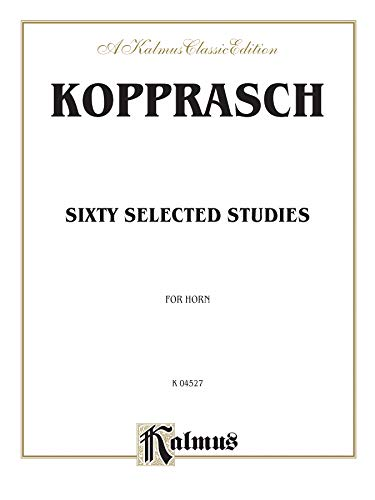 Sixty Selected Studies Format: Book: By C. Kopprasch
