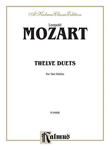 9780769257846: Twelve Duets (Kalmus Edition)