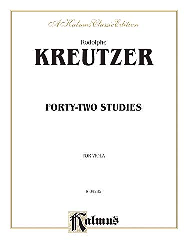 9780769258102: Forty-Two Studies (Kalmus Edition)