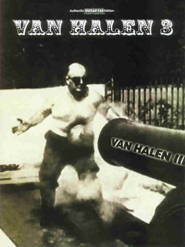 9780769259086: Van Halen 3: Authentic Guitar-Tab Edition