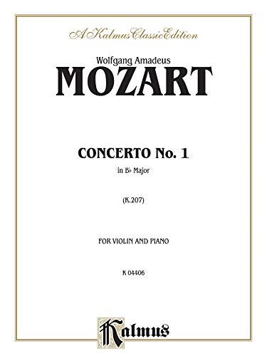 9780769259291: Violin Concerto No. 1, K. 207 (Kalmus Edition)