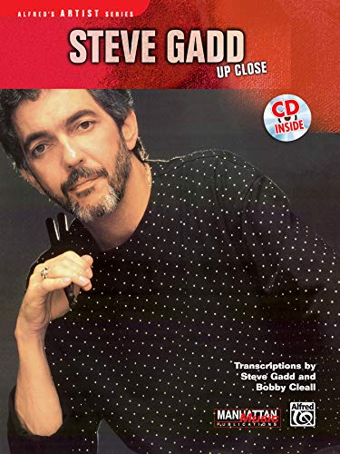 9780769260600: Steve Gadd -- Up Close (Book & CD) (Alfred's Artist Series)