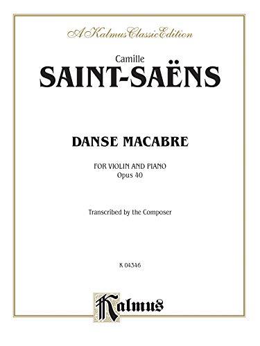 9780769262703: Danse Macabre, Op. 40 (Kalmus Edition)