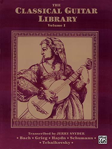 9780769263557: Classical Guitar Library V1