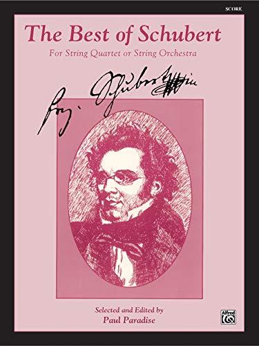 Best of Schubert: Score: Schubert, Franz