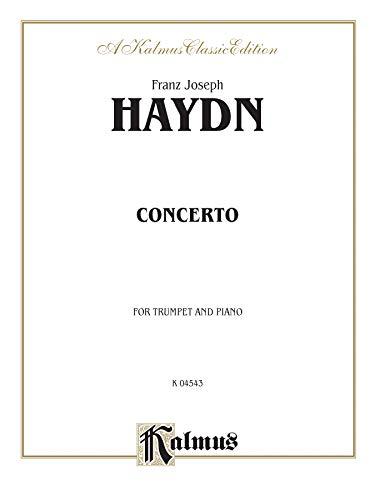 9780769263939: Trumpet Concerto (Orch.): Part(s) (Kalmus Edition)