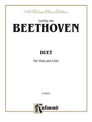 9780769263946: Duet for Viola and Cello (Kalmus Edition)