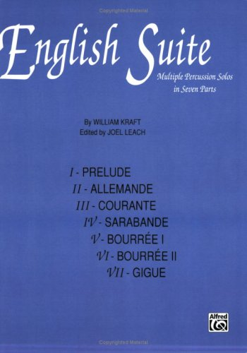 9780769264325: English Suite: Multiple Percussion Solos in Seven Parts