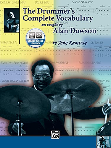 9780769265247: The Drummer's Complete Vocabulary As Taught by Alan Dawson: Book & 2 CDs