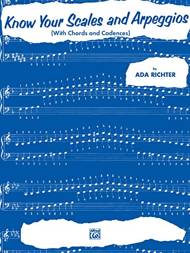 Know Your Scales and Arpeggios: with Chords: Richter, Ada