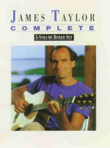 9780769265520: James Taylor -- Complete (Boxed Set): Boxed Set (Piano/Vocal/Chords) (Book (Boxed Set))
