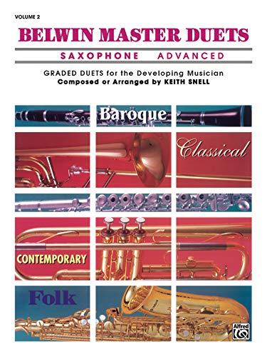 9780769266145: Belwin Master Duets (Saxophone), Vol 2: Advanced