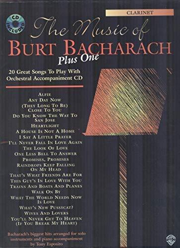 9780769266565: The Music of Burt Bacharach Plus One: Clarinet (Book & CD)