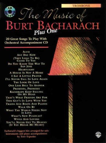 9780769266602: The Music of Burt Bacharach Plus One: Trombone (Book & CD)