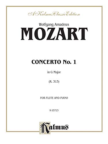9780769266992: Flute Concerto No. 1, K. 313 (G Major) (Orch.): Part(s) (Kalmus Edition)