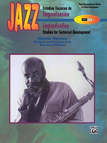 9780769267395: Jazz Improvisation: Studies for Technical Development (Spanish, English Language Edition)