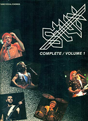 Styx -- Complete, Vol 1: Piano/Vocal/Chords: Styx