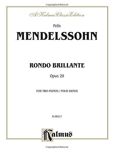 9780769268651: Rondo Brillante (Kalmus Edition)