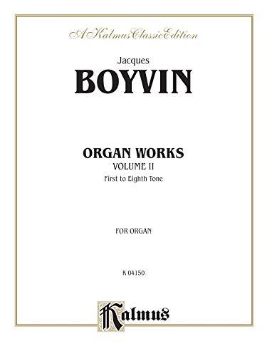 Organ Works, Vol 2 (Kalmus Edition): Alfred Music