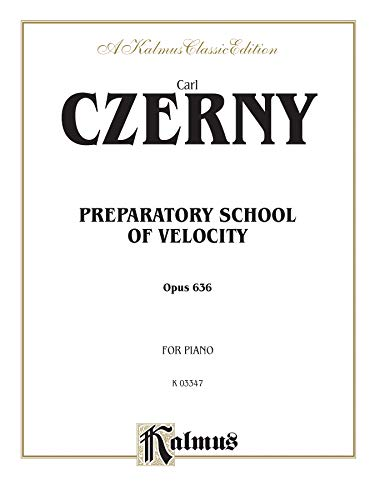 9780769268712: Preparatory School of Velocity: Opus 636