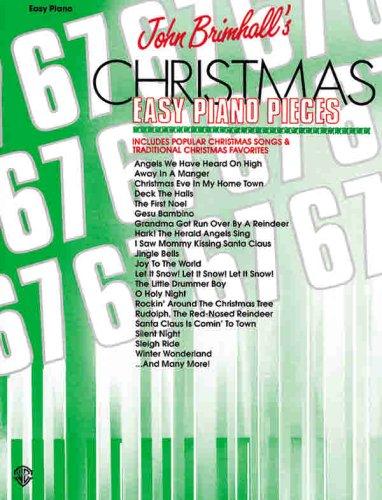9780769270050: John Brimhall's 67 Christmas Easy Piano Pieces (John Brimhall's 67 Easy Piano Pieces)