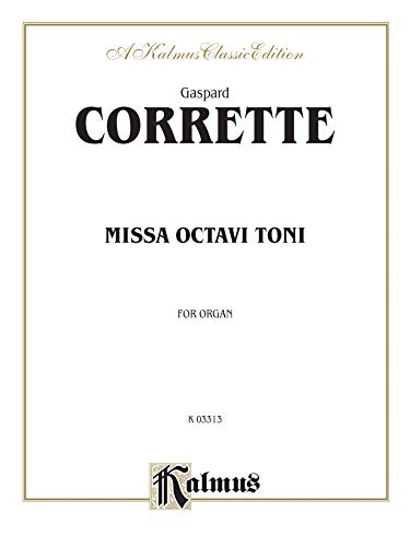 Missa Octavi Toni: Sheet (Kalmus Edition)