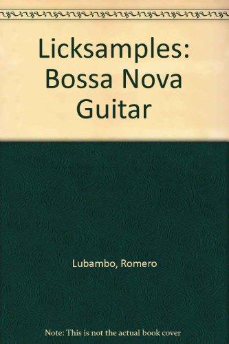 9780769270333: Licksamples: Bossa Nova Guitar [VHS]