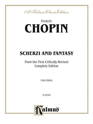 9780769271200: Scherzi and Fantasy in F Minor (Kalmus Edition)