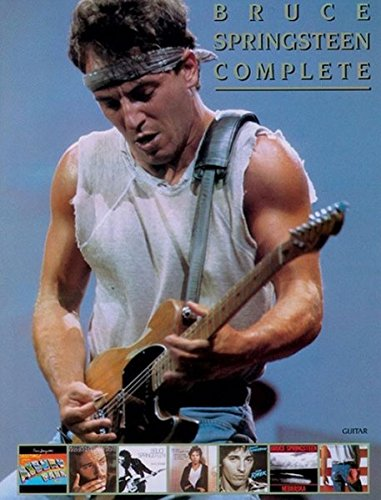 9780769273600: Bruce Springsteen -- Complete: Guitar/Vocal/Chords