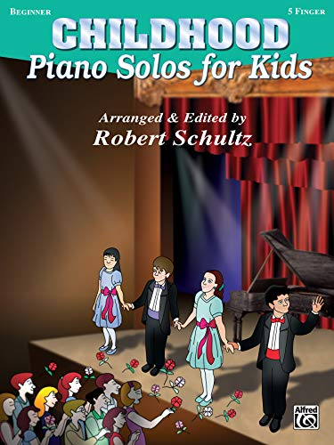 9780769274591: Piano Solos for Kids: Childhood