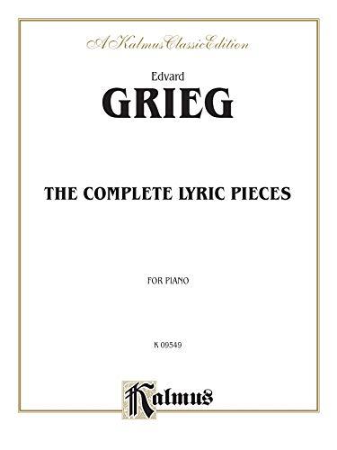 9780769275123: The Complete Lyric Pieces (Kalmus Edition)