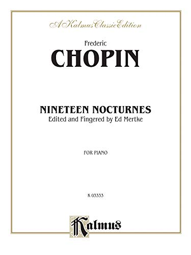 9780769276625: Nocturnes (Kalmus Edition)