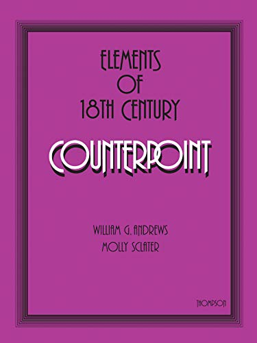 9780769277714: Elements of 18th Century Counterpoint