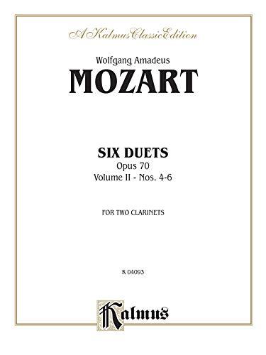 9780769278179: Six Duets, Vol 2: Nos. 4-6 (Kalmus Edition)