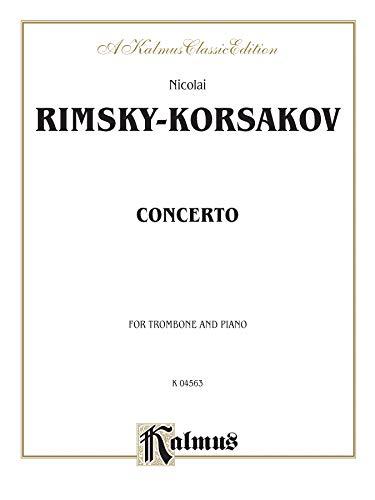9780769278391: Trombone Concerto: Part(s) (Kalmus Edition)