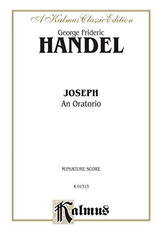 9780769278490: Joseph (1744): Miniature Score (German, English Language Edition), Comb Bound Miniature Score (Kalmus Edition) (German Edition)