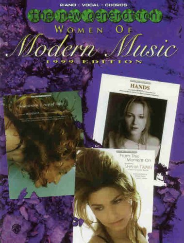 Women of Modern Music 1999 Edition (The: Staff, Alfred Publishing
