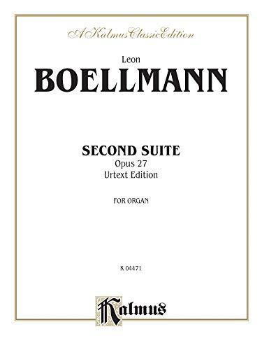 9780769281018: Second Suite, Op. 27 (Urtext): Sheet (Kalmus Edition)