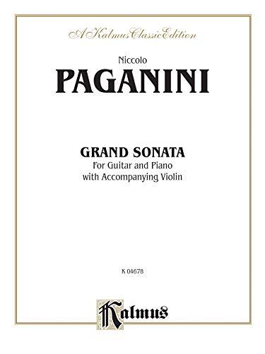 Grand Sonata Format: Book: Paganini, Niccol