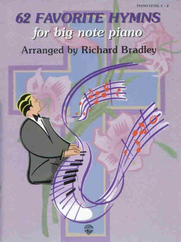 9780769281698: 62 Favorite Hymns for Big Note Piano
