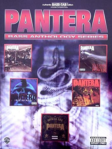 9780769282886: Pantera: Bass Anthology Series - Bass