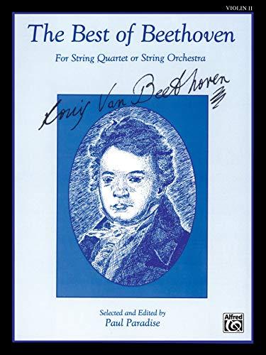 9780769283425: The Best of Beethoven: Violin II