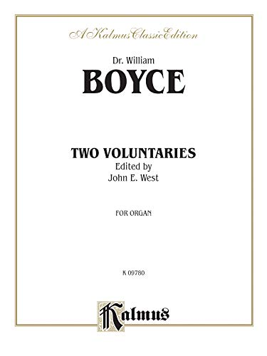 Two Voluntaries: Sheet (Kalmus Edition) (0769284094) by [???]